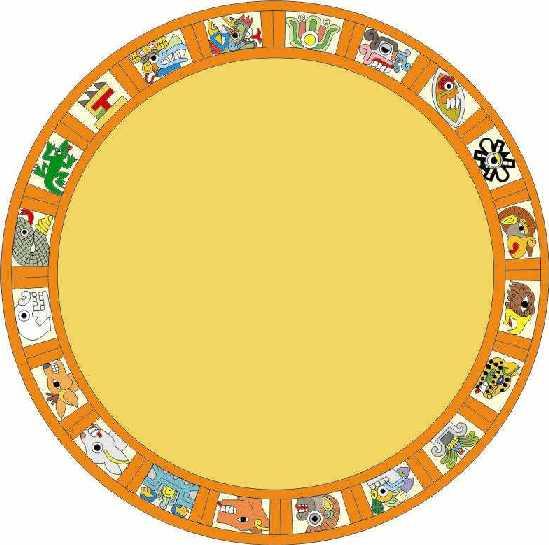 Tonalli La Rueda De Los Días Simbolismo Calendario Azteca