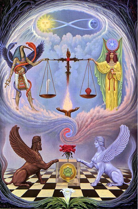 Balance samaelgnosis fran ais - Le tavole di thoth ...
