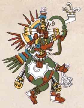Quetzalcoatl Serpiente Emplumada Dioses Aztecas