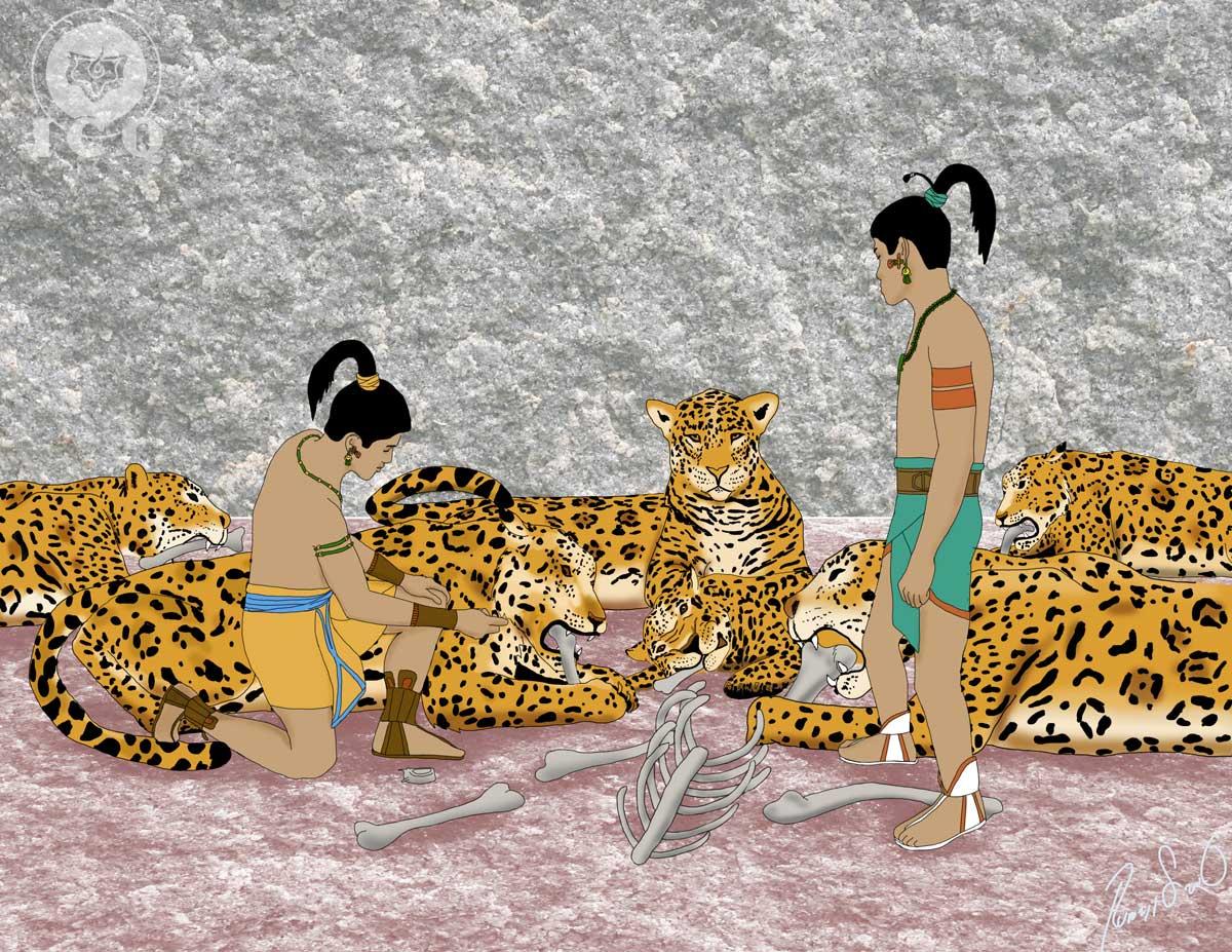 Las casas del fr o xuxulim ha fuego balami ha tigres hachi