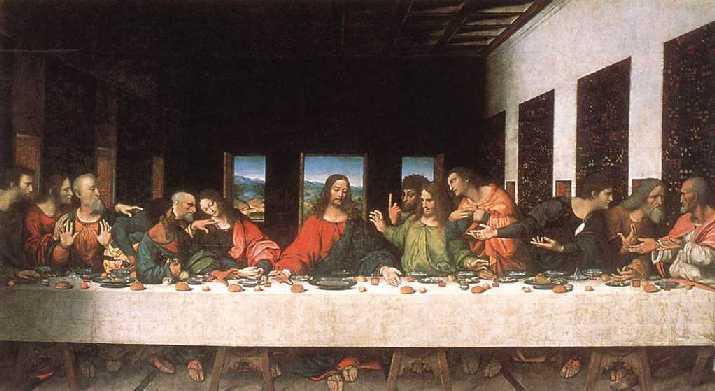La ultima cena en diversas versiones